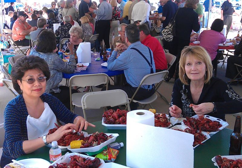 Crawfish maniacs!