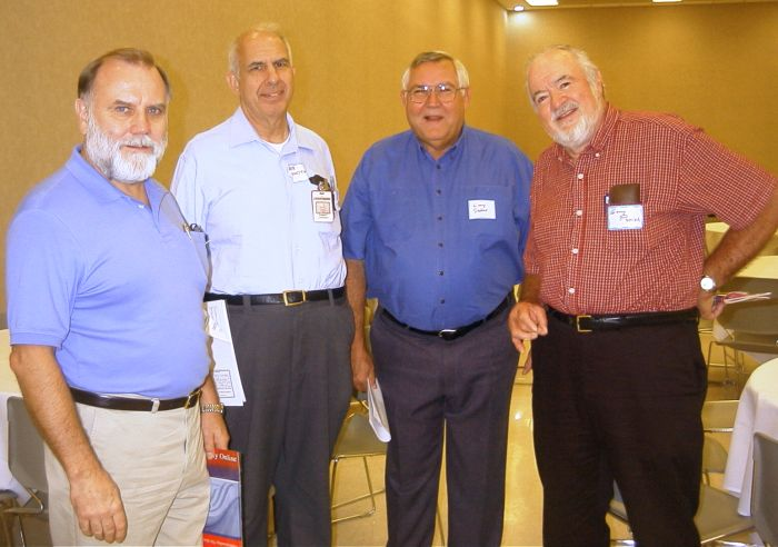 Jerry Brown, Bob Livingston, Larry Stenho, Gary Parrish