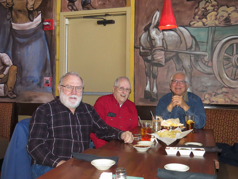 L-R: Jerry Brown, Jim Harrison, and Harold Shiroma