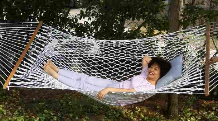 Li Shun's turn in the hammock