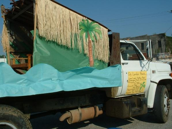 City Lumber Co. Fourth of July Float
