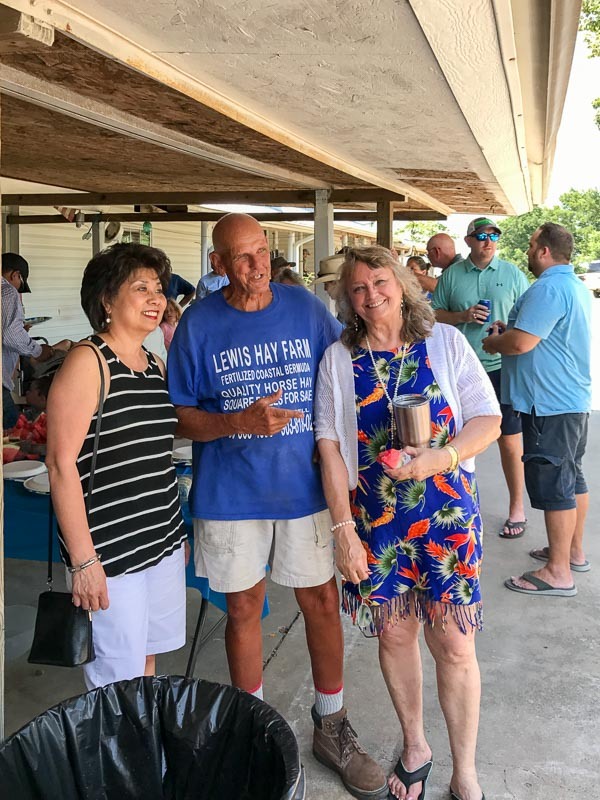 Angie, Mike Lewis, and Connie Wallner